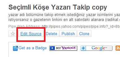 yahoo pipe edit source tuşu